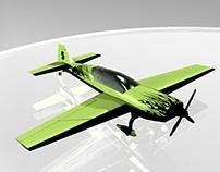 Modelado de Avioneta Extra 300