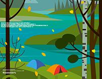 Cover illustration for Kommersant Guide