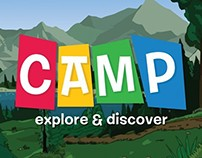 Camp 'Explore & Discover' Board Game