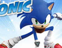 Sonic Hedgehog HTML5 Banners