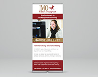 IMO Sales Support Roll-up banner