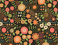 PATTERN: Folk Floral