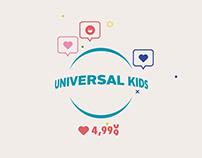 Universal Kids Branding