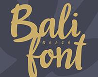 Bali Beach / Script Font
