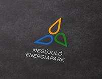 Megújuló Energiapark Logo & Identity