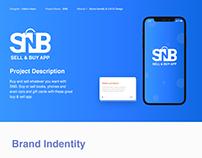 Brand Identity & UI/UX Design [SNB project]