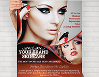 Awesome Skin Care Flyer by Rolex Studio