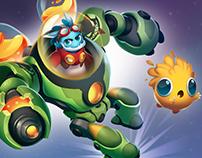 Ruh the alien - Character design