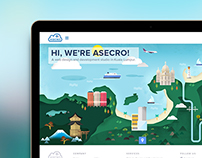 Asecro Homepage