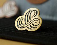 Tri-Line Ampersand Pin
