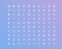100 Free Basic UI Icon