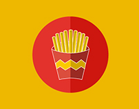 Icon Design  // Fast Food