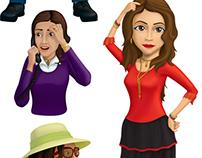 Kineo avatars