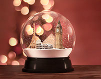 Piraeus Bank | Snowglobe