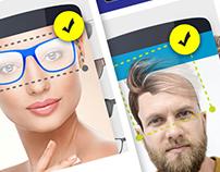 App design - Men Suit photo Editor Smart Photo montage