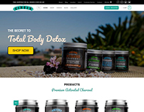 Cinder Charcoal | Web Design | Ecommerce