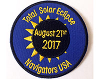 Solar Eclipse Badge for Navigator Scouts