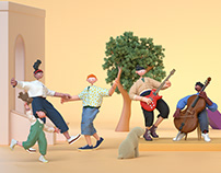 MuseumsQuartier Summer Campaign