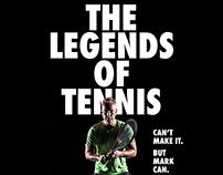 Become a Legend | P² Invitational Tennis Tournament