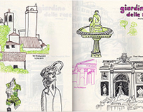 Sketchbook Pages from VCU GDES Study Abroad