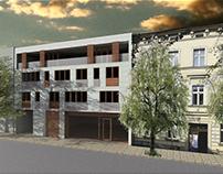 Architektura mieszkaniowa - plomba miejska