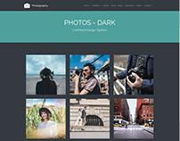 Photos - Dark - Photography WordPress Theme