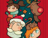 Navidad. Ilustración infantil