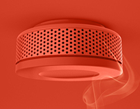 Cosy Fire & Smoke Detector for Lifebox