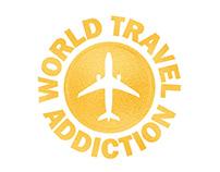 World Travel Addiction - Logo