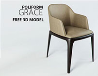 FREE 3D MODEL - GRACE by POLIFORM