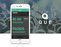 Que - Mobile App