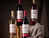 J'adore Wine labels
