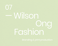 Wilson Ong.