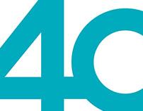 Logotipo 40 Aniversario OCU