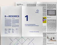 b.research —poster-leaflet