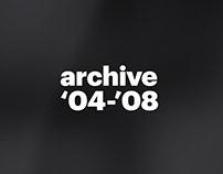 Archive 2004-2008