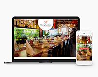 Asian Restaurant website