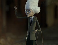 Norma - 3D Character Sculpture (2014)