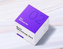 Box Mockup Set 02: Square