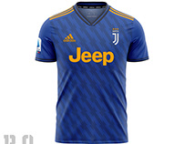 Concept Away Jersey Juventus 2020-2021