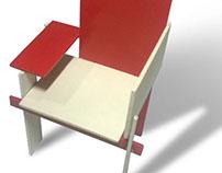 Cadeira Berlin / Modelo em escala 1:10