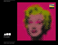 Marilyn Monroe - PopChain NFT