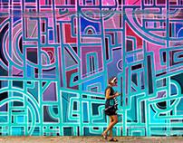 Mural in POBLENOU