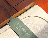 紅點文旅房內文書組|Reddot Hotel Customer Pack