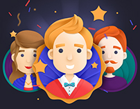 illustrations for onboarding