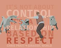 Jurassic World with Chris Pratt