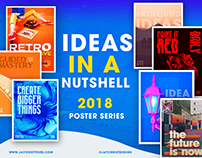 DESIGN JOURNAL: Ideas in a nutshell (Poster Series)