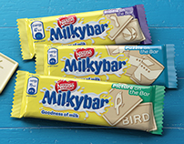 CGI Product Visualization - Nestle Milkybar