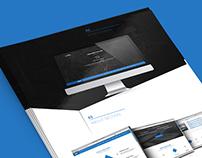 Single Page Website - Free PSD