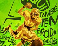 Cartaz - Campeonato Amistoso - Cuiabá Arsenal